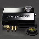 2015 S550 Ford Mustang ProCharger aluminum coolant expansion reservoir