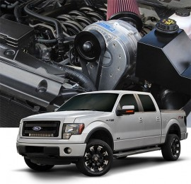 2011-2014 F-150 6.2L Stage II Intercooled System with P-1SC-1