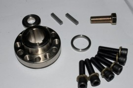 F1 / F2 Cog pulley hub assembly .877 Shaft diameter